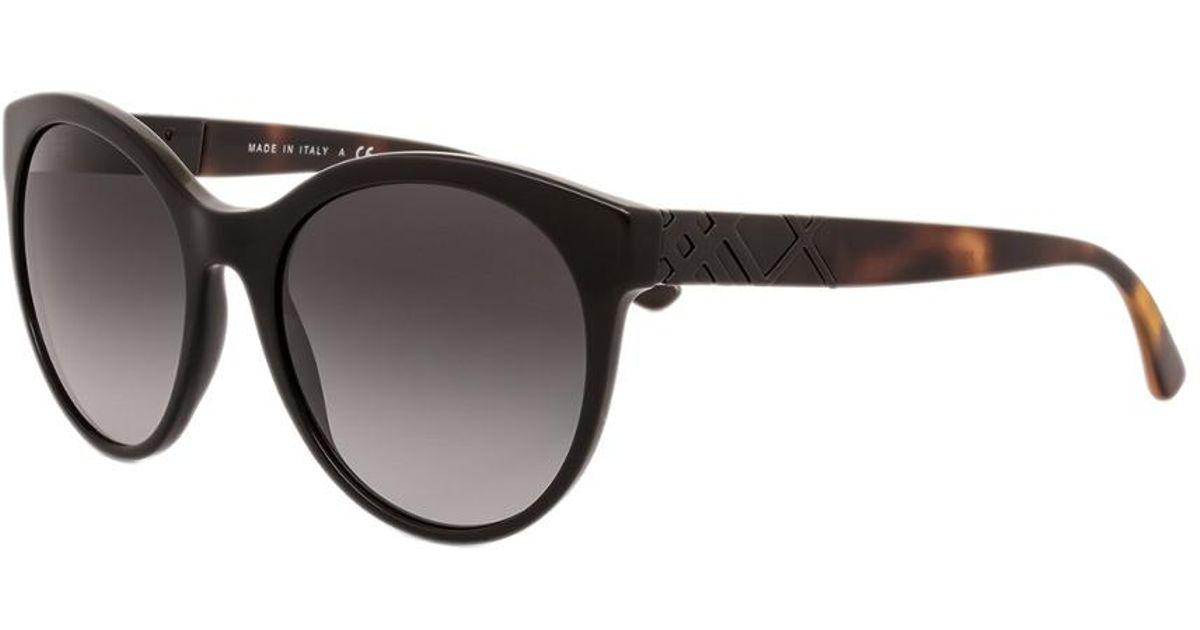 3ae051c1c20e Burberry Women's Be4236 56mm Sunglasses in Black - Lyst