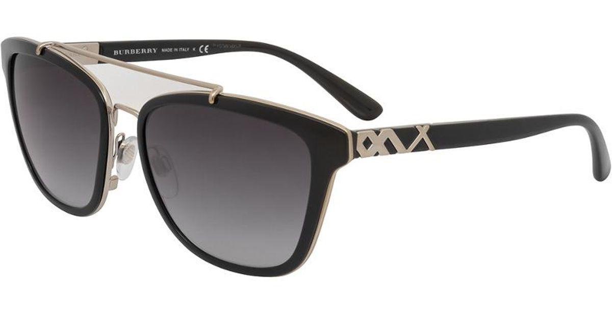 Burberry BE4240 Sonnenbrille Schwarz 30018G 56mm OvLlNDO