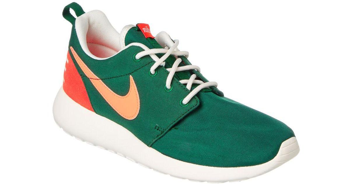 8cf6d7296a30 Lyst - Nike Women s Roshe One Retro Trainer in Green for Men