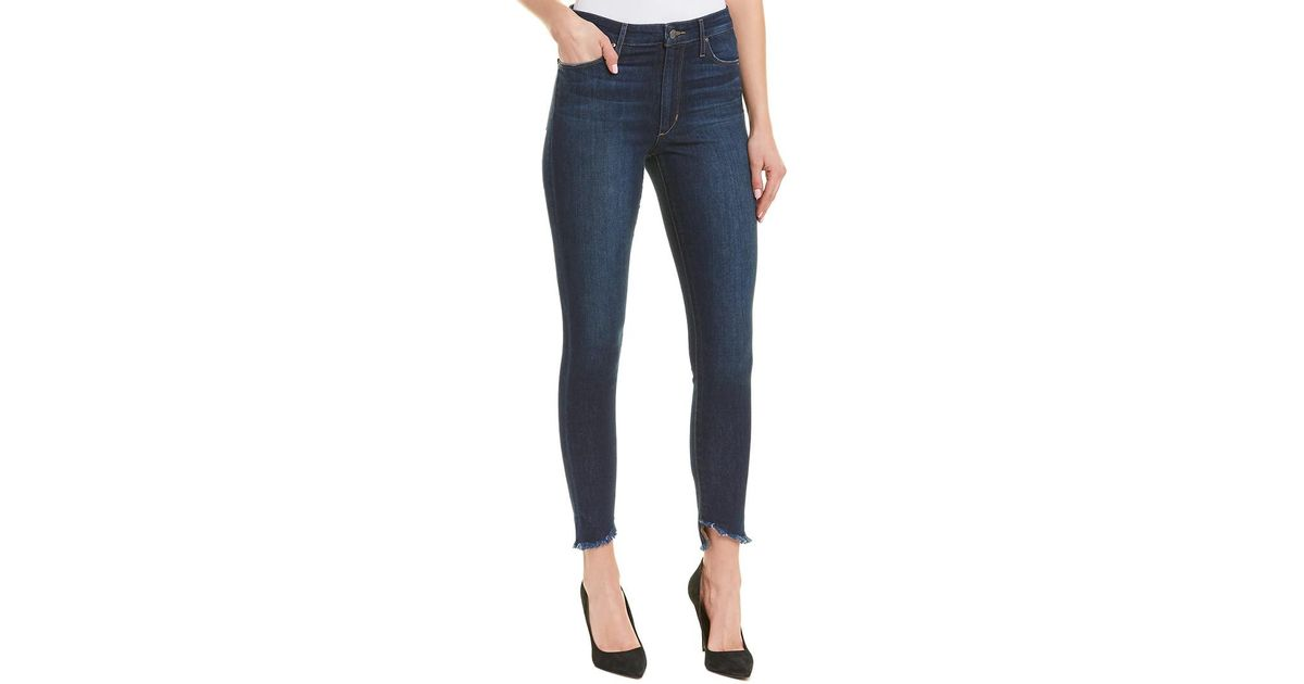 f225a0882ee Lyst - Joe s Jeans The Charlie Coraline High-rise Skinny Ankle Cut in Blue  - Save 27%