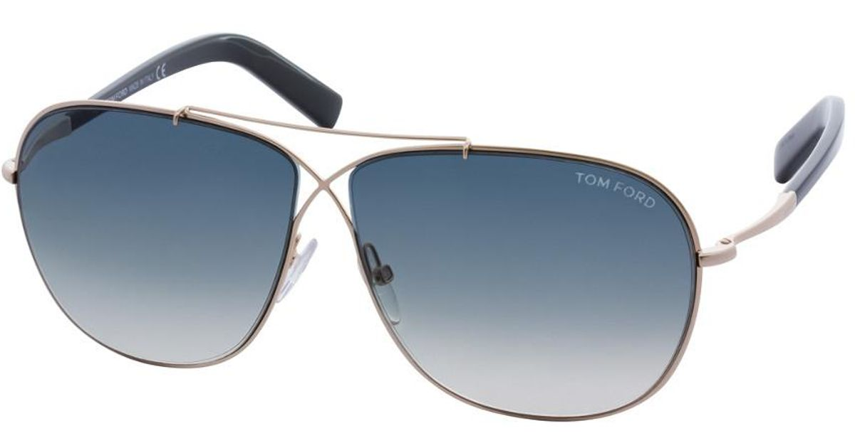 45cad94e88a1 Lyst - Tom Ford Unisex April 61mm Sunglasses in Blue