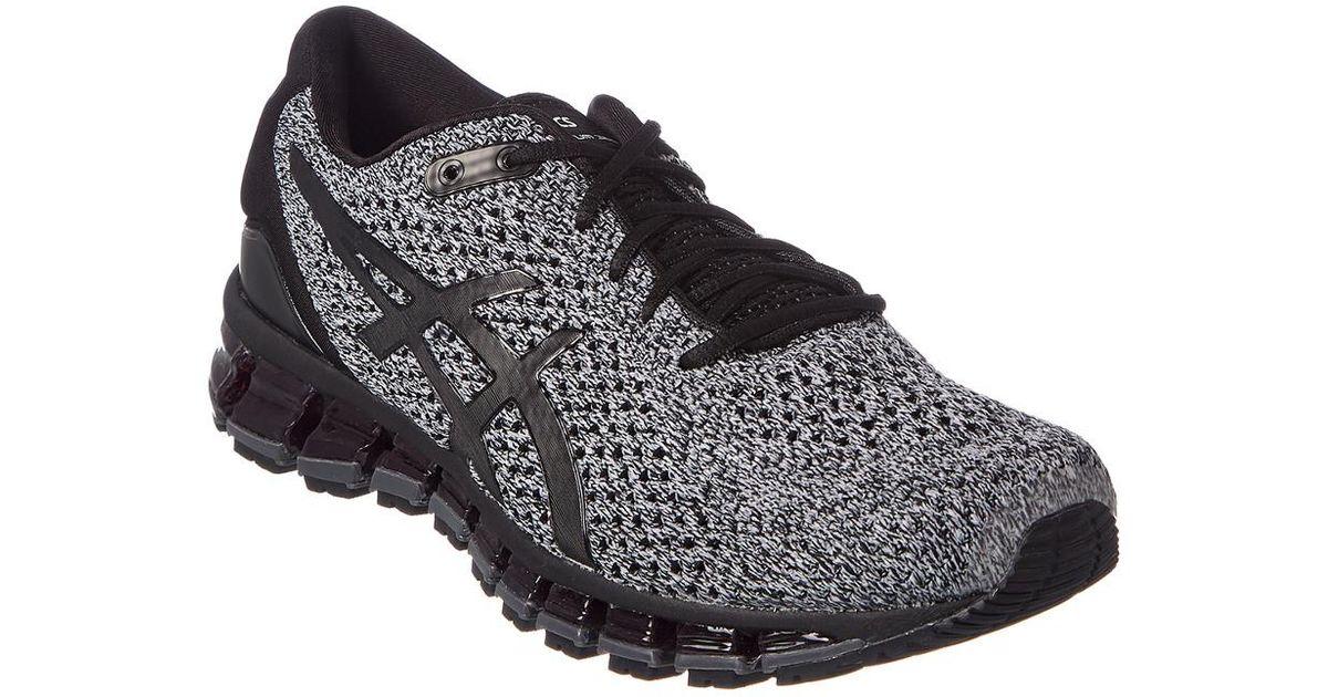 100% authentic 6d9e3 51a90 Asics Gel-quantum 360 Knit 2 Running Shoe in Black for Men - Lyst