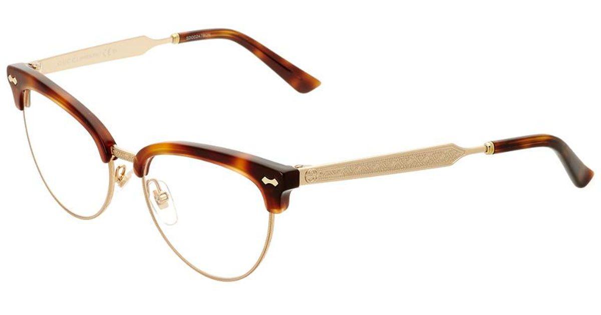 Lyst - Gucci Women\'s Gg4284-127530crx5217 52mm Optical Frames