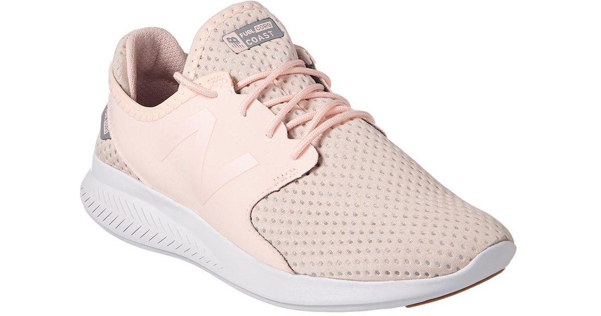 3ff19954f7314 New Balance Pink Women's Fuelcore Coast V3 Running Shoe