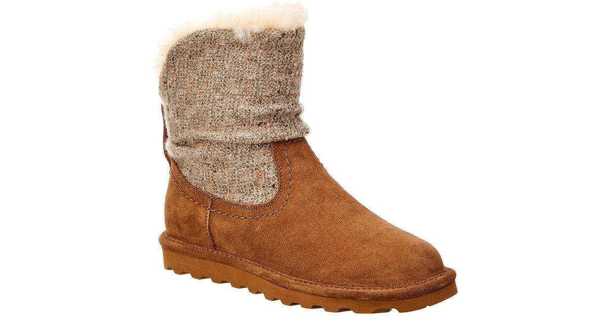 23e661150897 Lyst - BEARPAW Virginia Never Wet Water-resistant Suede Boot in Brown