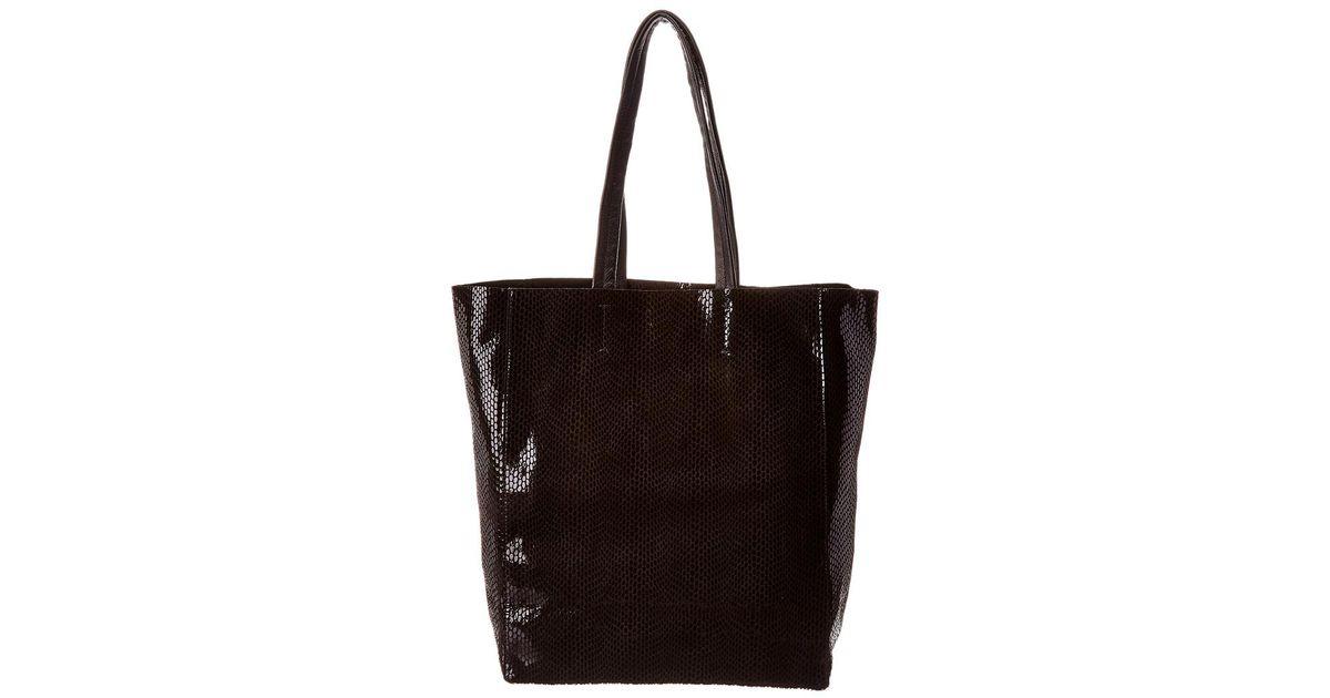 3242fe9ce62b Lyst - Sorial Rubina Leather Tote in Black