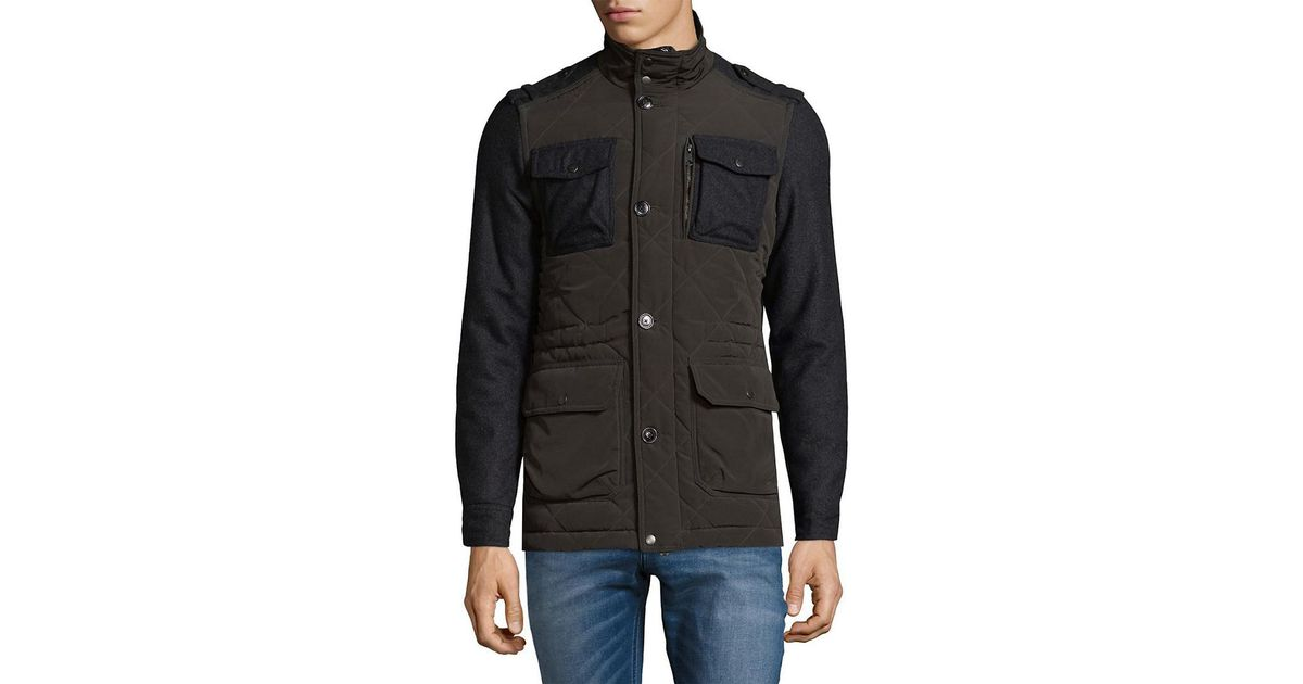 6a2f9503b5 Lyst - J.Lindeberg Trapper Structured Jacket in Gray for Men