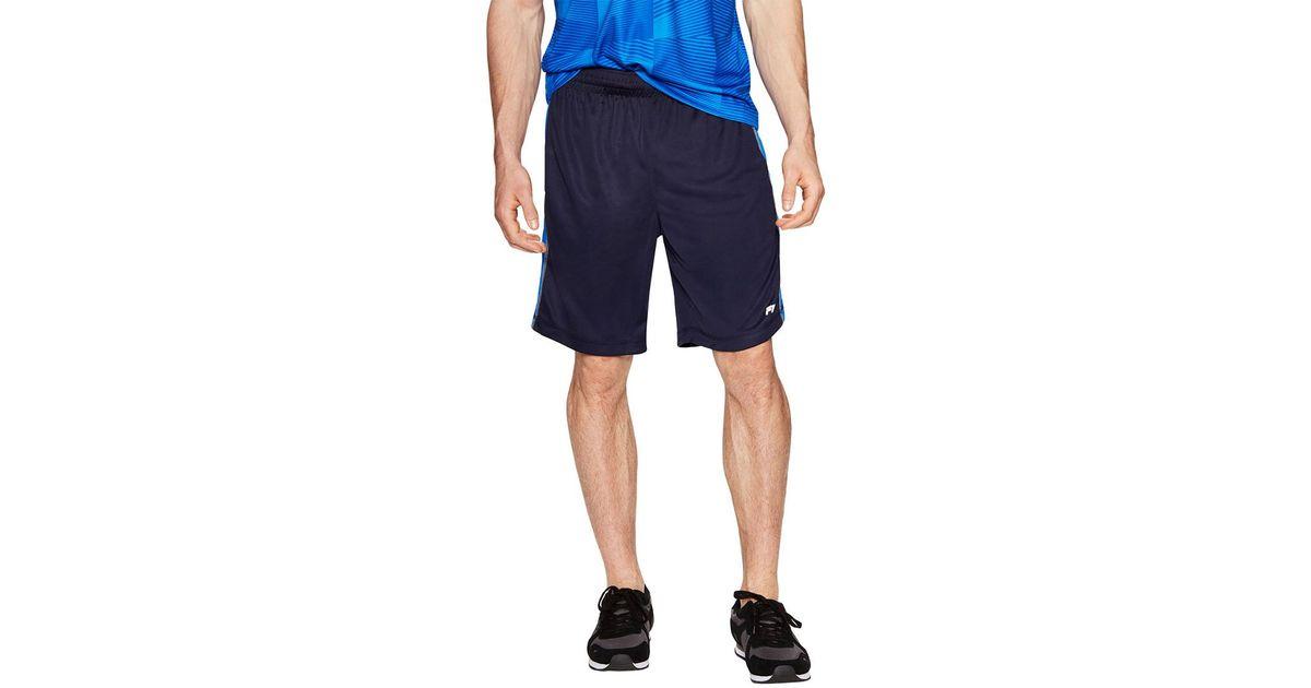 ebf7b11b9015 Lyst - Fila Sidewalk Elastic Waist Short in Blue for Men