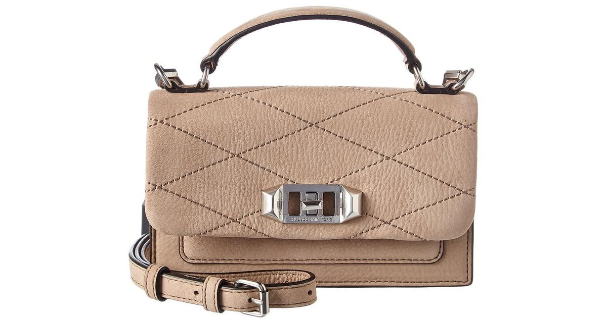 T'aime Leather Je Rebecca Gray Minkoff Suede Crossbody vN80nmw