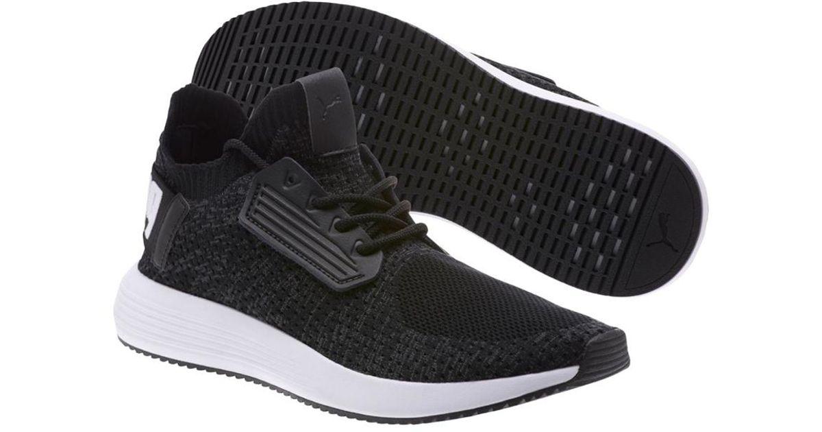 f654827c7a27 Lyst - PUMA Uprise Knit Sneaker in Black for Men