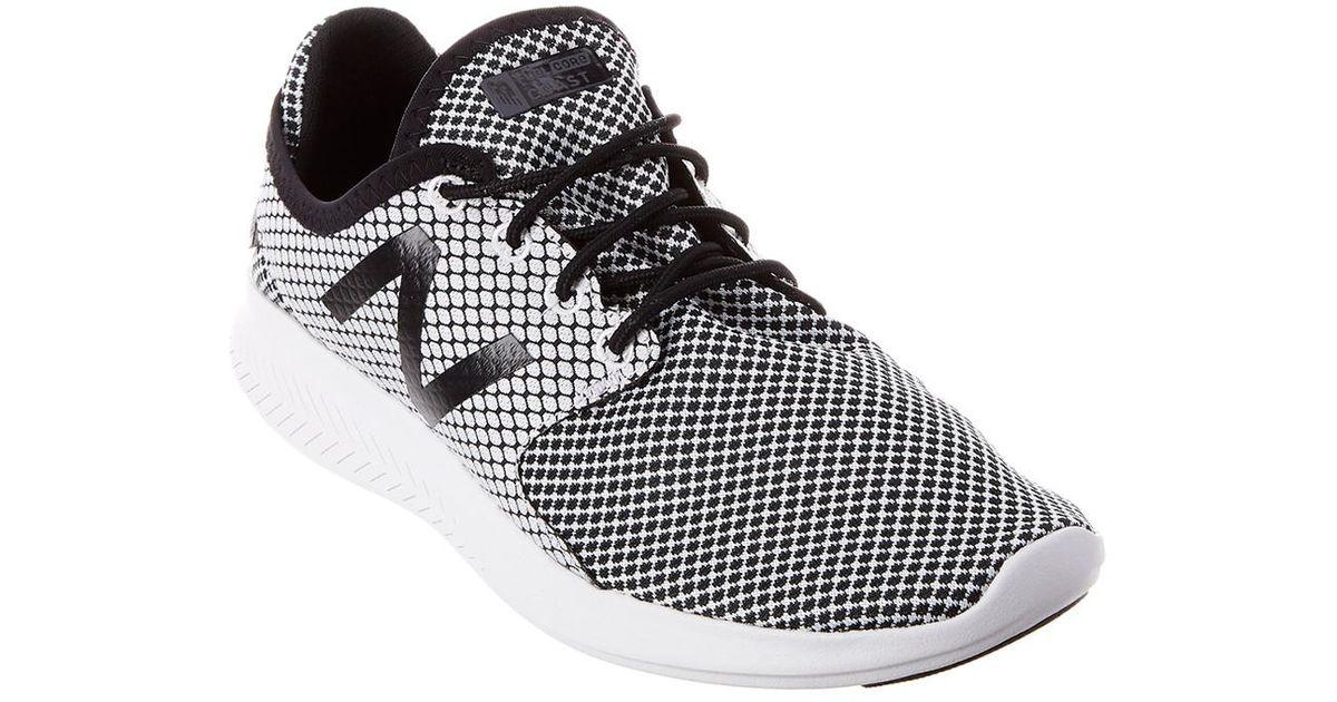 96f5ea6607d71 New Balance - Black Women's Fuelcore Coast V3 Running Shoe - Lyst
