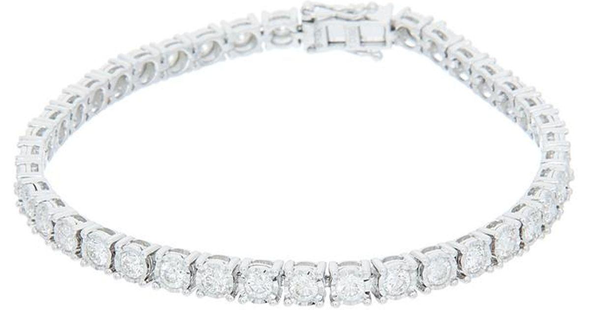 Diana M. Jewels 18k Two-Tone Diamond Link Bracelet ELIELY73sU