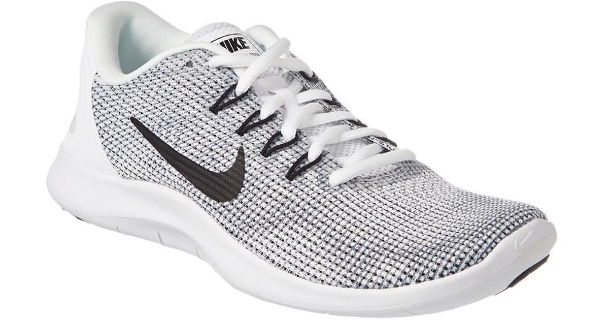 ae07a365f186 Lyst - Nike Flex Rn 2018 Running Shoe in White