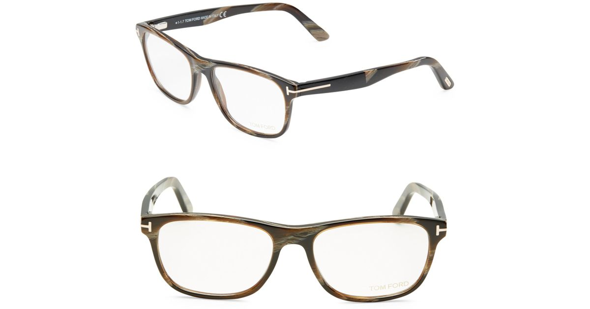 d20d831512159 Tom Ford Soft Square Optical Glasses in Brown for Men - Lyst