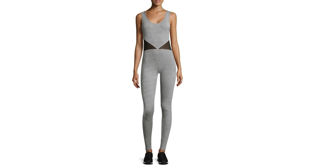 e52743580239 Shama Jade Invisible Luxury Jumpsuit in Gray - Lyst