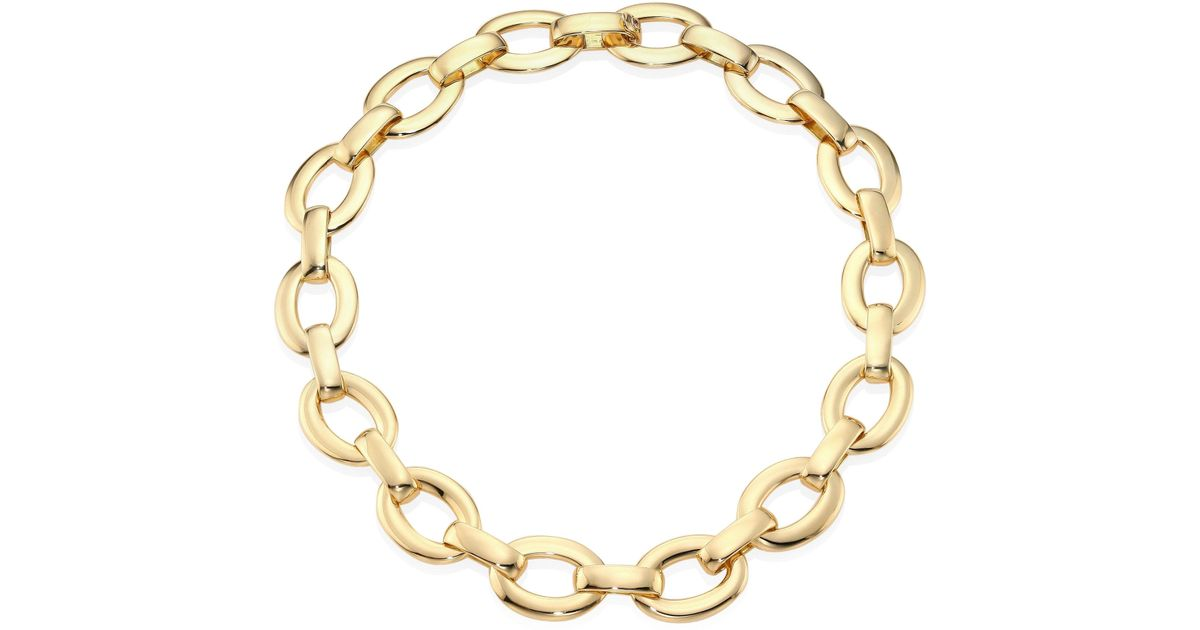 necklace classic product link collection chain danielle silver steele
