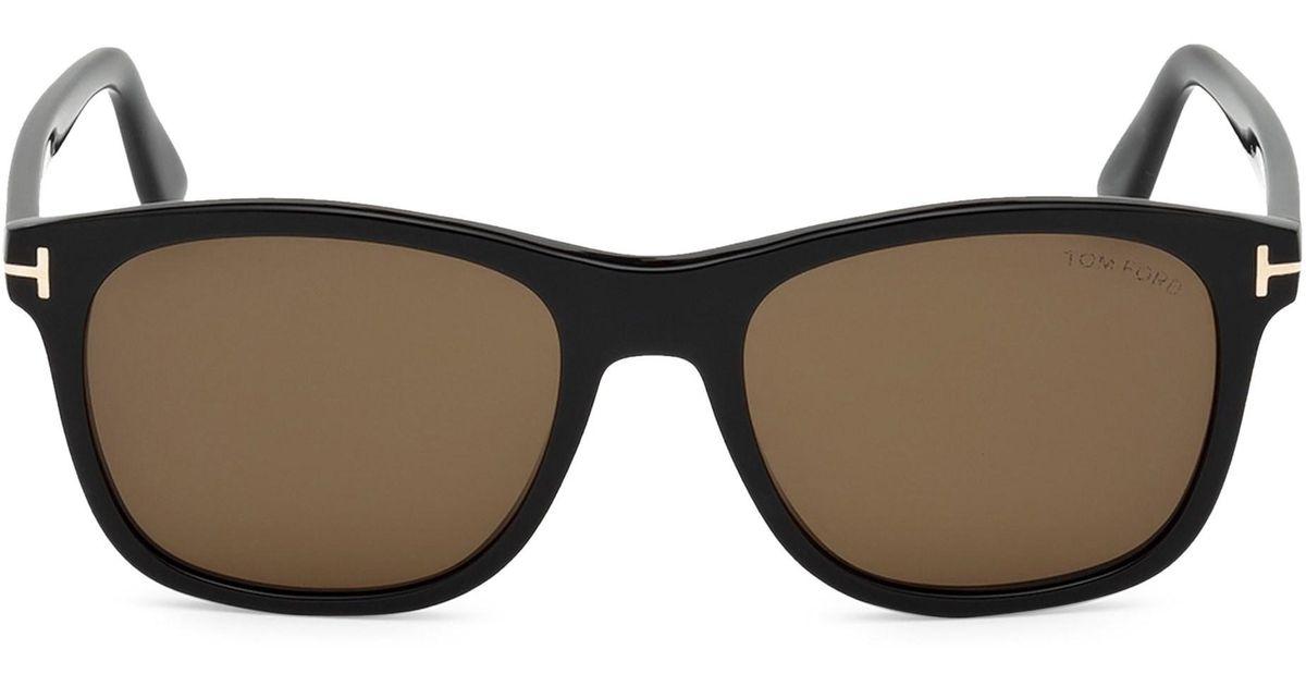 d3c5082dd4 Tom Ford 55mm Eric Squared Sunglasses in Black for Men - Lyst