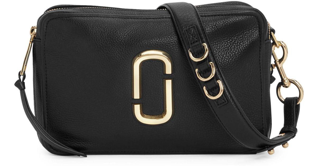 0cf1ddbed Marc Jacobs The Softshot 27 Shoulder Bag in Black - Save 40% - Lyst
