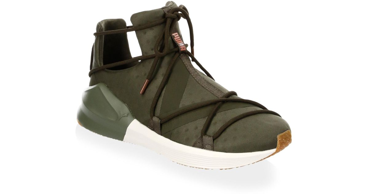 f81d33fa1c207c PUMA Fierce Rope High-top Sneakers in Green for Men - Lyst