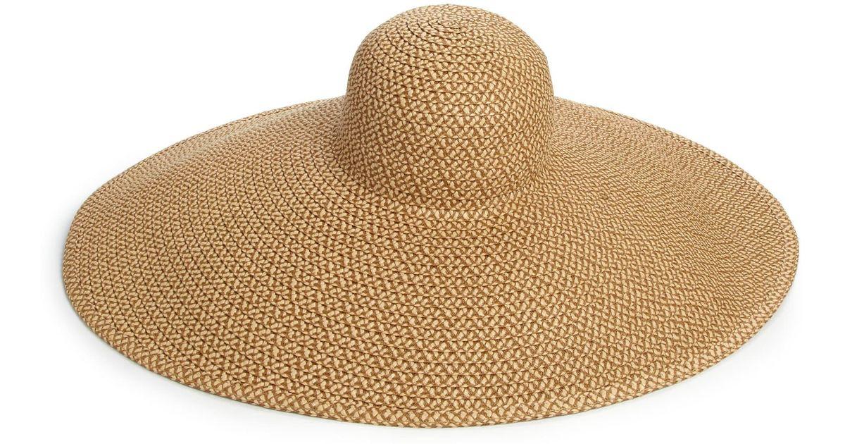 Lyst - Eric Javits Floppy Sun Hat in Brown f03b8a42b984