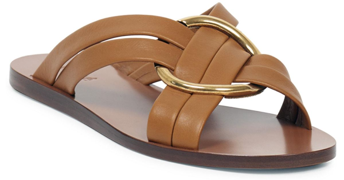 Chloé Rony flat sandals sale pick a best discount get to buy cheap sale brand new unisex k0K1rB