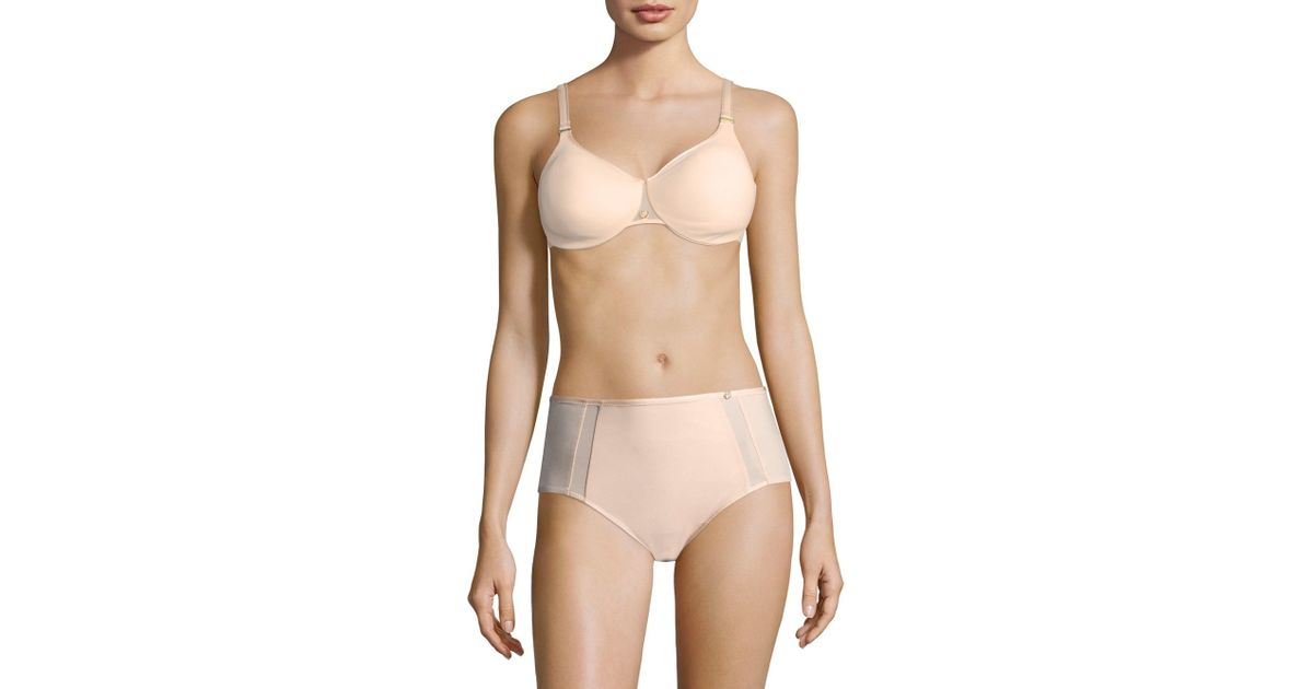 954bd8b2d3620 Lyst - Chantelle Women s C Magnifique Sexy Seamless Unlined Minimizer -  Skin Rose - Size 38h in Natural