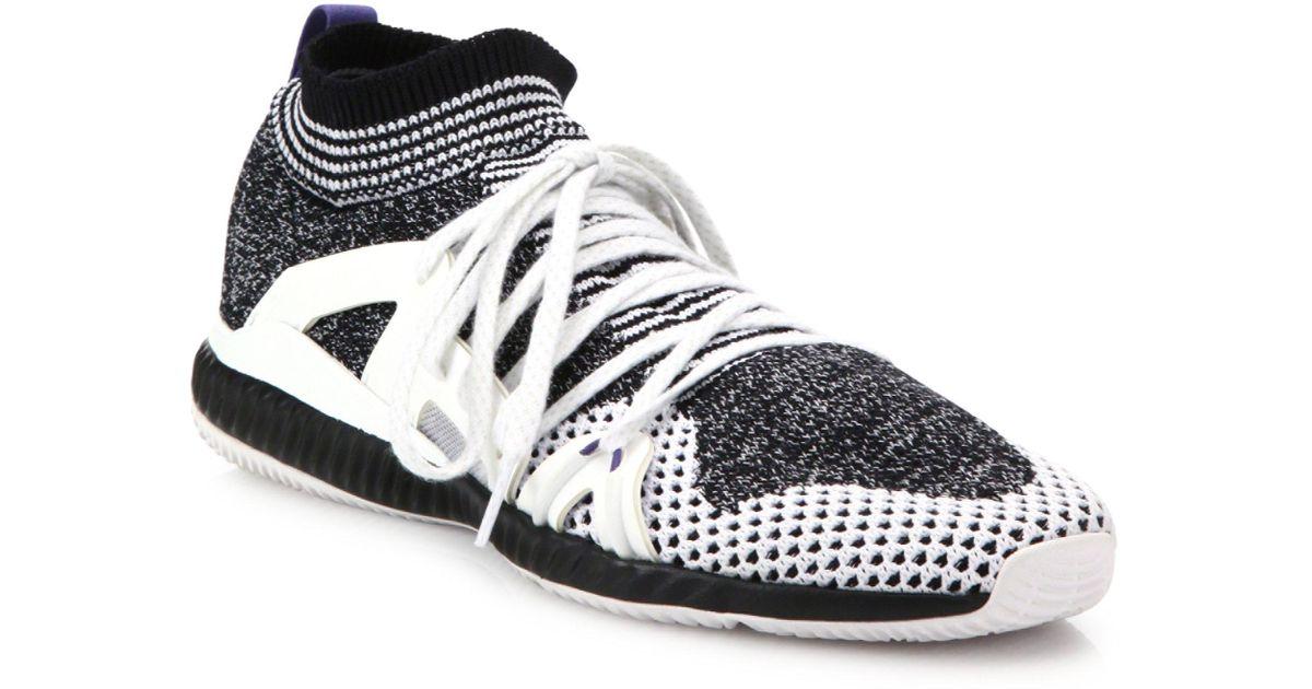 3c6c9c4b34850 Lyst - adidas By Stella McCartney Women s Crazymove Bounce Trainer Sneakers  - Black - Size 10 in Black