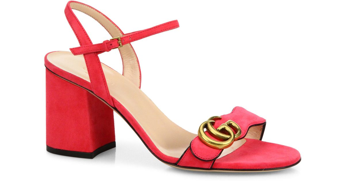 Gucci Block heel sandals
