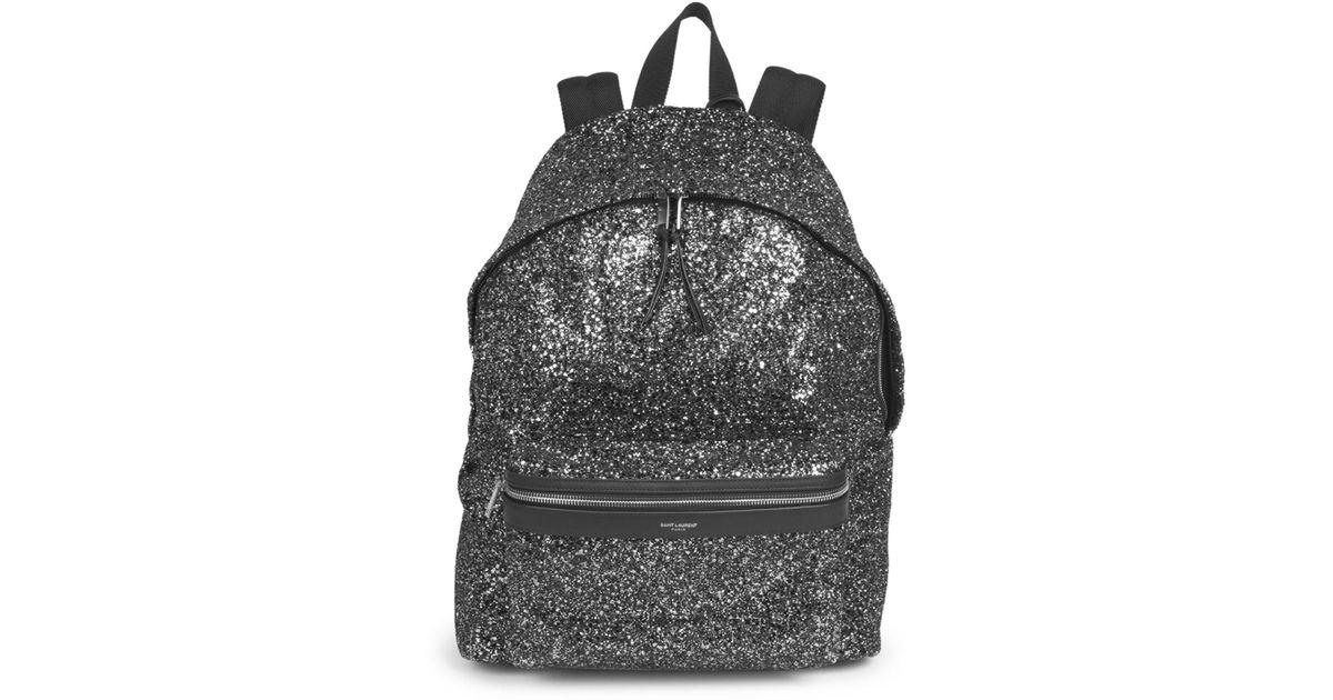 61e969e66 Lyst - Saint Laurent Classic Zip Backpack in Black for Men