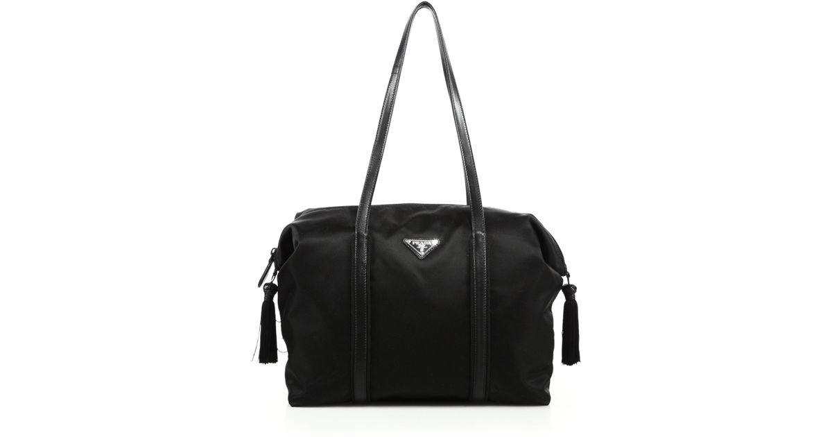 Prada Nylon Duffle Bag