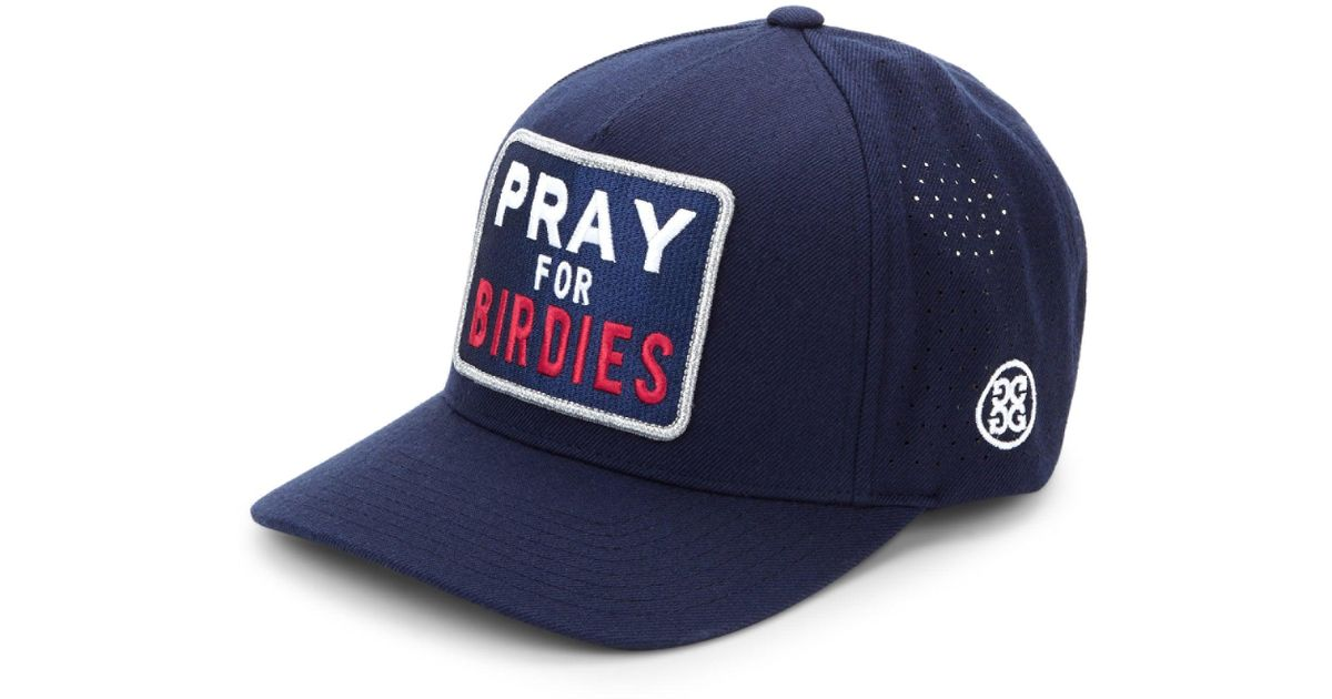 Lyst - G Fore Pray For Birdies Snapback in Blue for Men 557e56a8f1b
