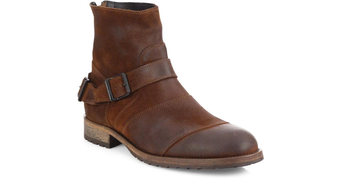 BelstaffAttwell Leather Ankle Boots