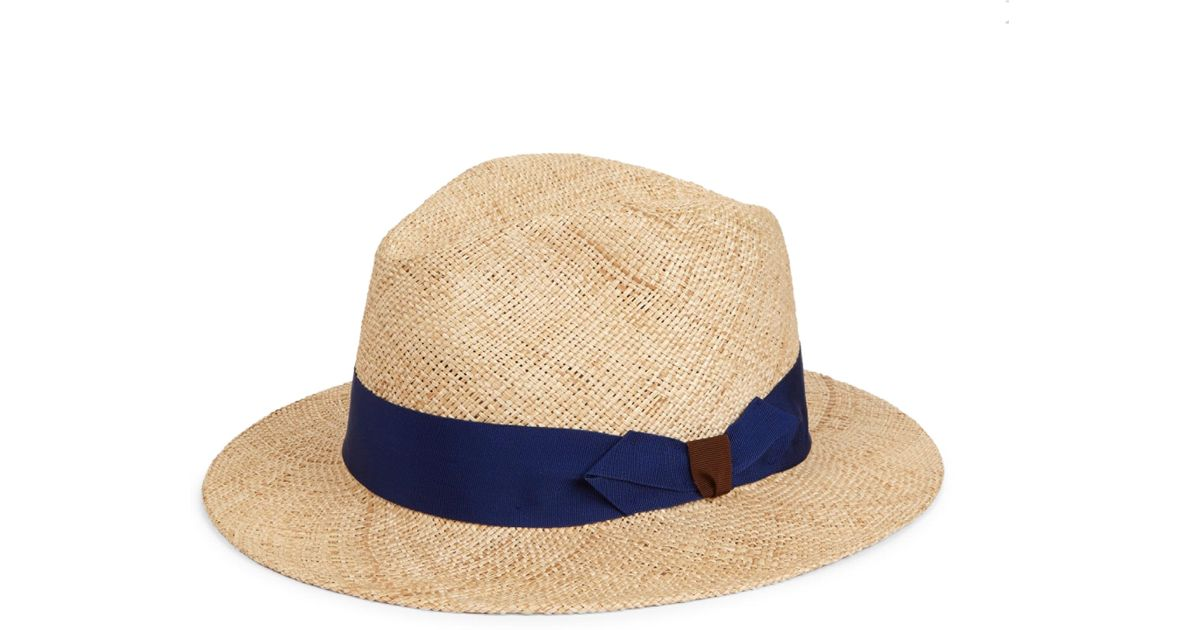 Barbisio Bao Straw Hat in Natural for Men - Lyst dc9e8ac46b9