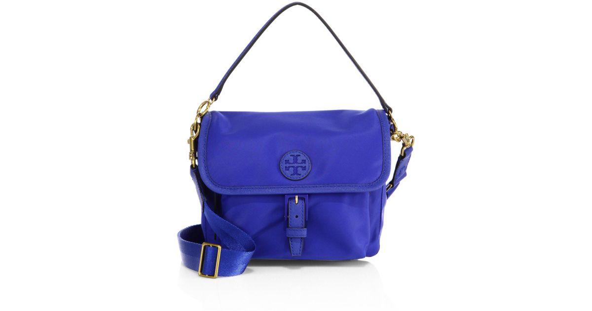 fd2ed023a57 Lyst - Tory Burch Scout Nylon Crossbody Bag in Blue