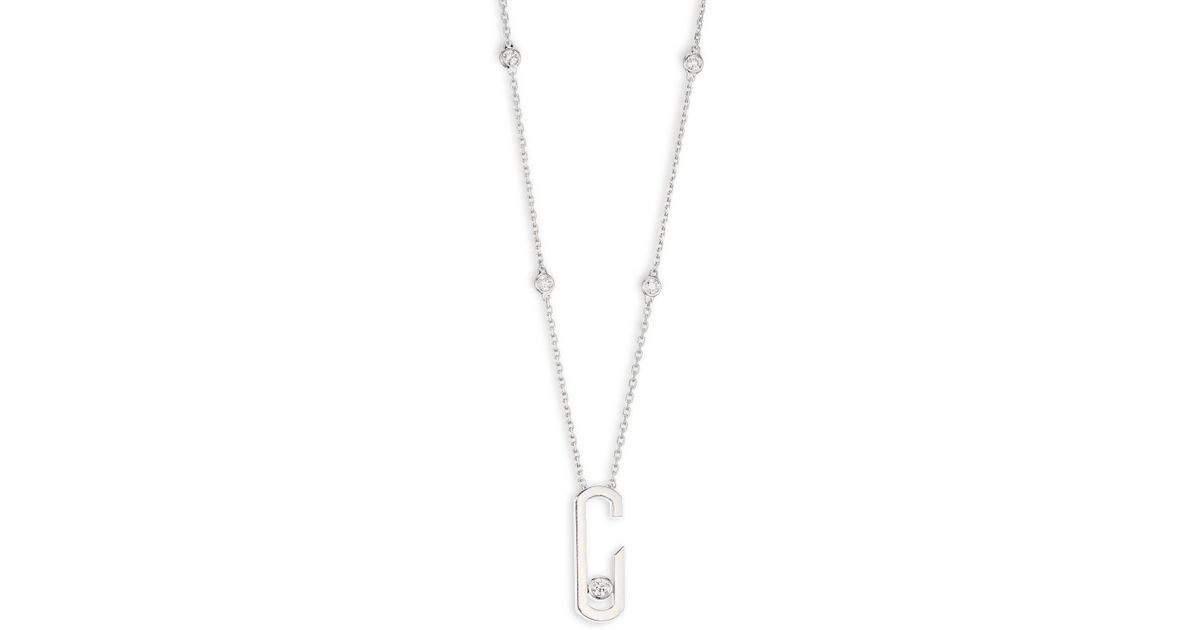1f2f0cb5340a5 Moving Diamond Pendant Necklace - Pendant Design Ideas