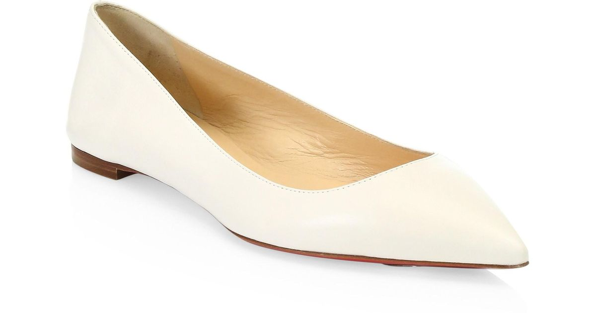 finest selection f0af9 4cbd6 Christian Louboutin - Multicolor Ballalla Pointed Flats - Lyst