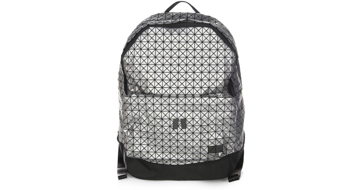 a60c96877271 Lyst - Bao Bao Issey Miyake Daypack Backpack in Metallic for Men