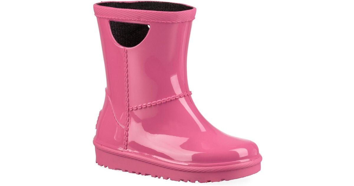 e55e1725e32 Ugg - Baby's & Little Girl's Rahjee Rain Boots - Diva Pink - Lyst