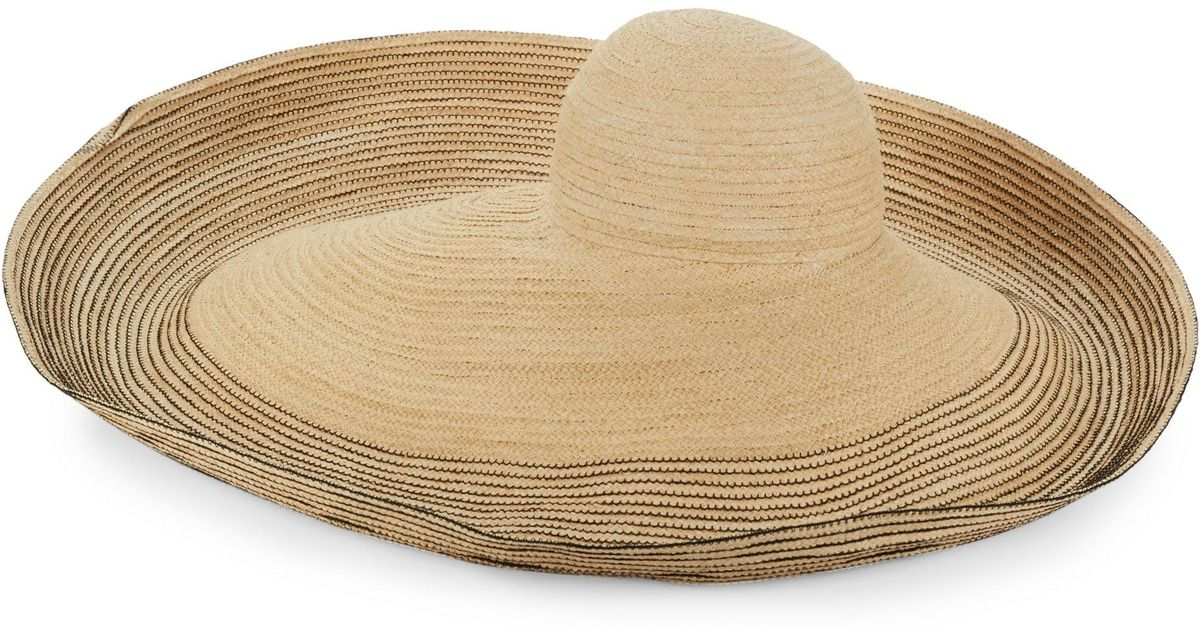 006ab78fee16 Lola Hats Respinner Wide-brim Sun Hat in Black - Lyst