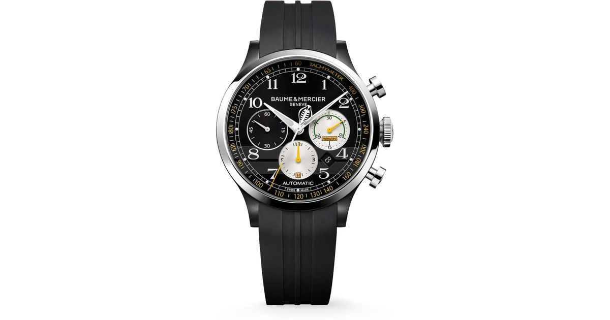 front the edition club et baume hands mercier featured limited clifton with on cobra watches shelby