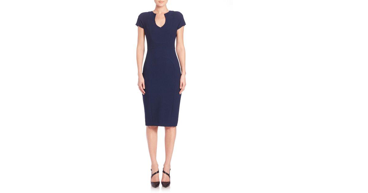 ee578d5018b Lyst - Black Halo Gypsy Rose Sheath Dress in Blue