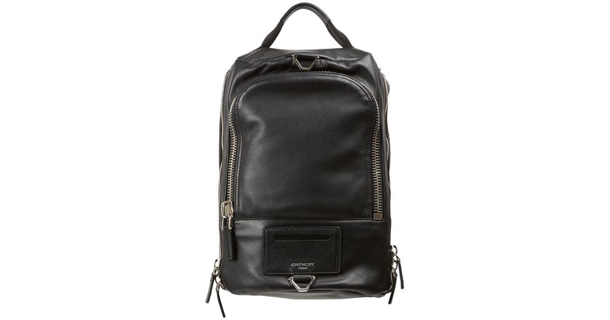 dd7ecff59b09 Lyst - Givenchy Multi-zip Backpack in Black