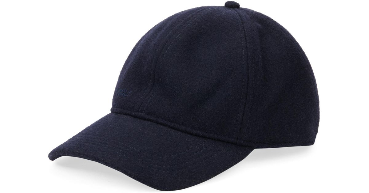 9496623f21a23 Barbour Coopworth Baseball Cap in Blue for Men - Lyst
