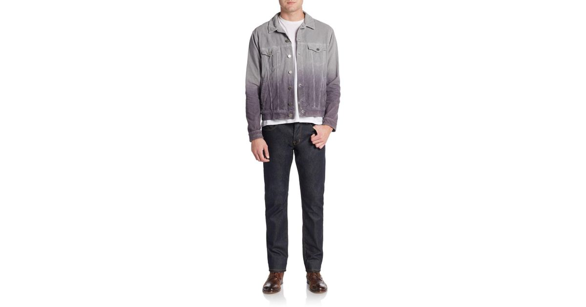 sc 1 st  Lyst & Lyst - Band Of Outsiders Corduroy Ombre Jacket in Gray for Men