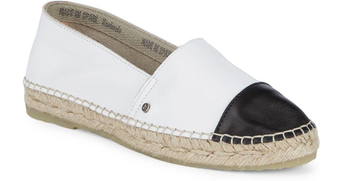 356a8ac74d15 Lyst - Sam Edelman Lanza Espadrille Shoes in White