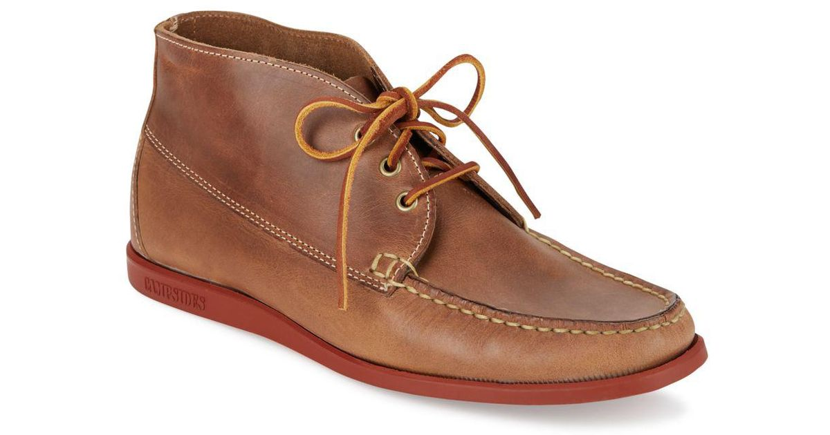 3893027b2da65 Lyst - Sebago Campsides Leather Chukka Boots in Brown for Men