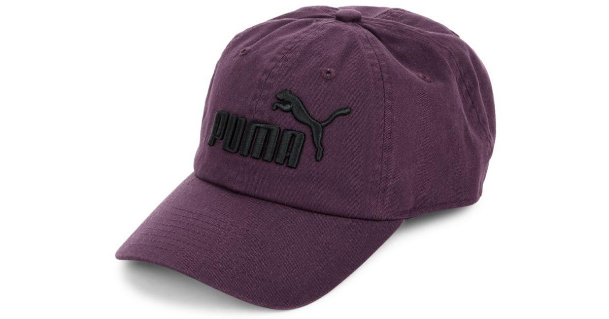 85fcbf099012 Lyst - Puma Cotton Ball Hat in Purple for Men