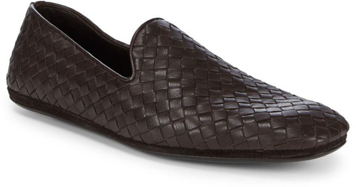 Bottega Veneta Basket weave loafers rhHDSseZod