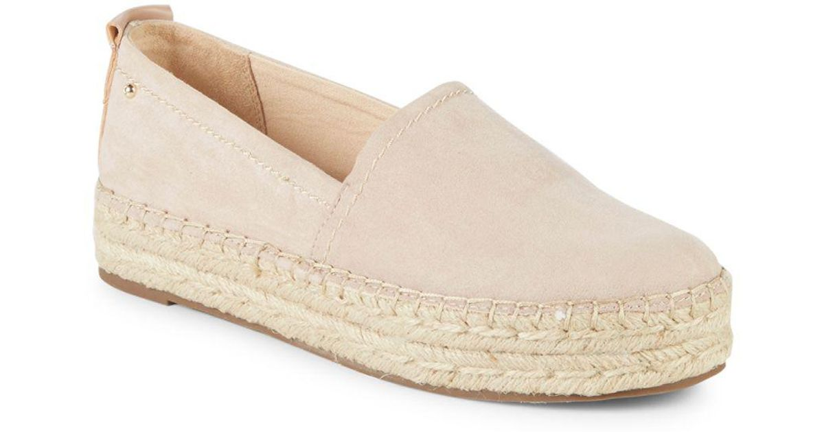 9118d0535 Circus by Sam Edelman Camdyn Faux-suede Espadrilles in Natural - Lyst
