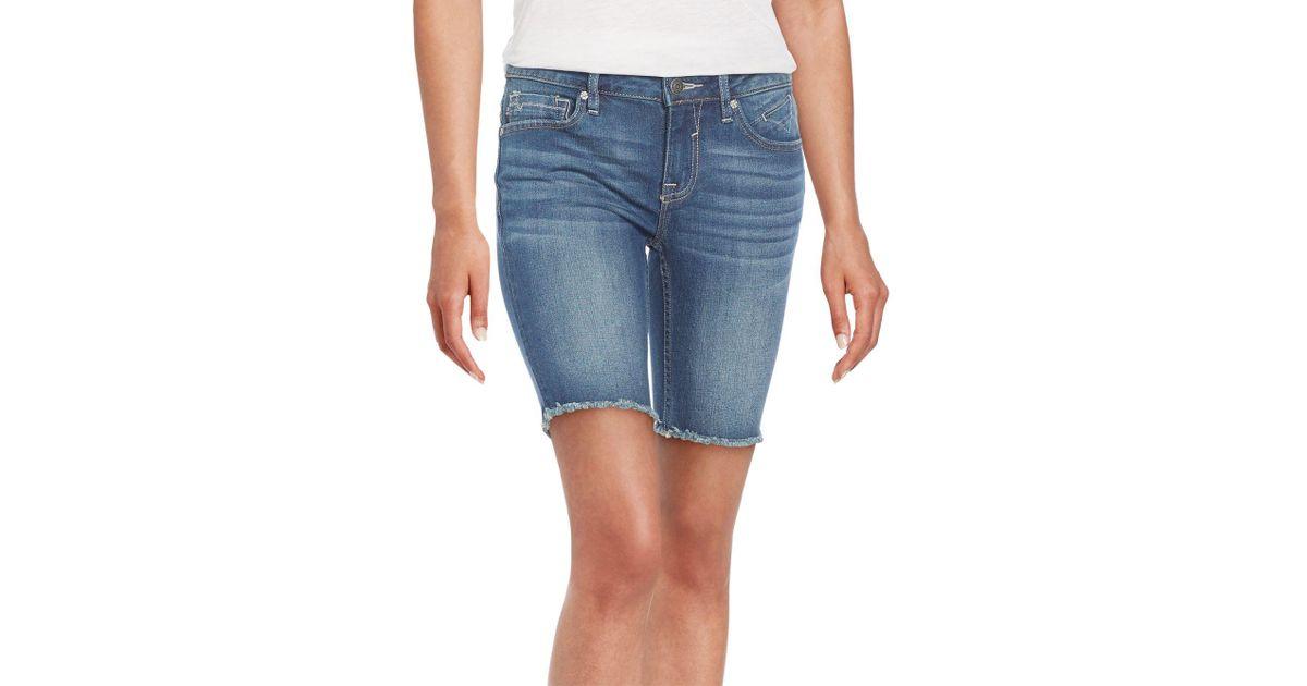 aba888d1ea Lyst - Vigoss Chelsea Bermuda Shorts in Blue
